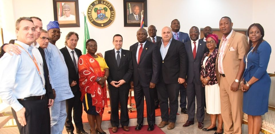 Eyal Mesika Nigeria - Abuja meeting